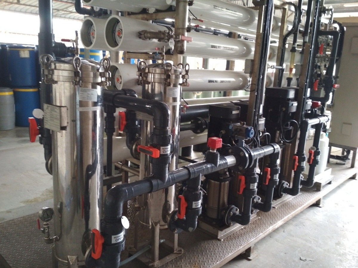 Water Treatment for Industrial Usage